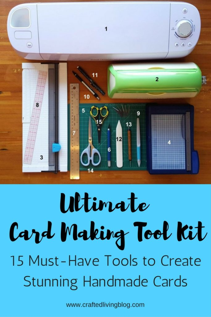 Ultimate Card Making Tool Kit Crafted Living