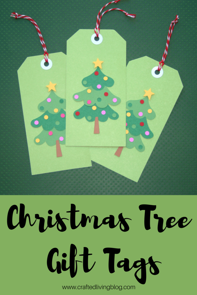 Christmas Gift Tags Diy.Christmas Tree Gift Tags Crafted Living