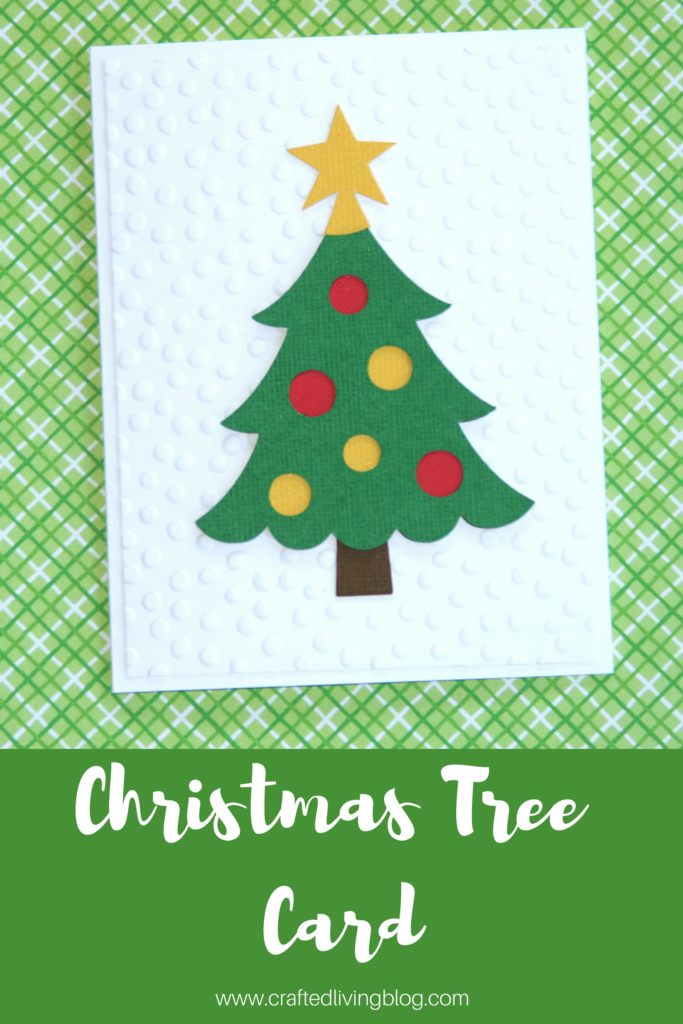 Christmas Tree Card • Crafted Living