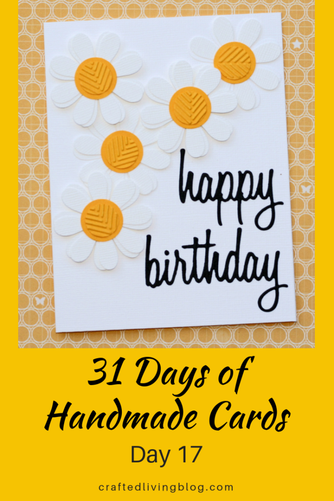 Miraculous 31 Days Of Handmade Cards Day 17 Crafted Living Funny Birthday Cards Online Fluifree Goldxyz