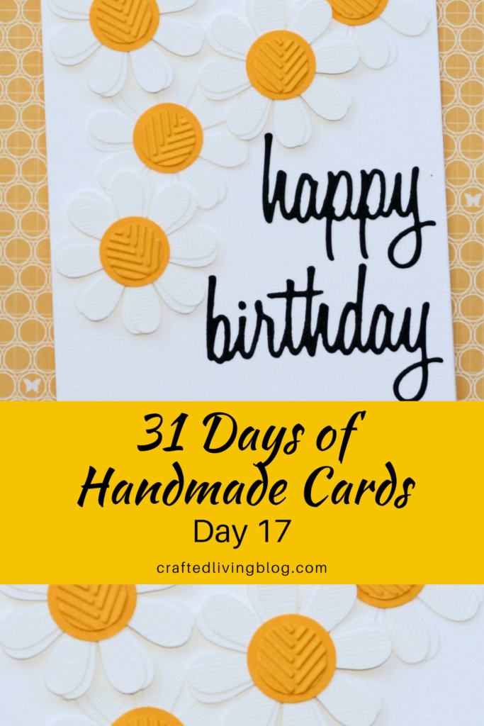 Fine 31 Days Of Handmade Cards Day 17 Crafted Living Funny Birthday Cards Online Fluifree Goldxyz